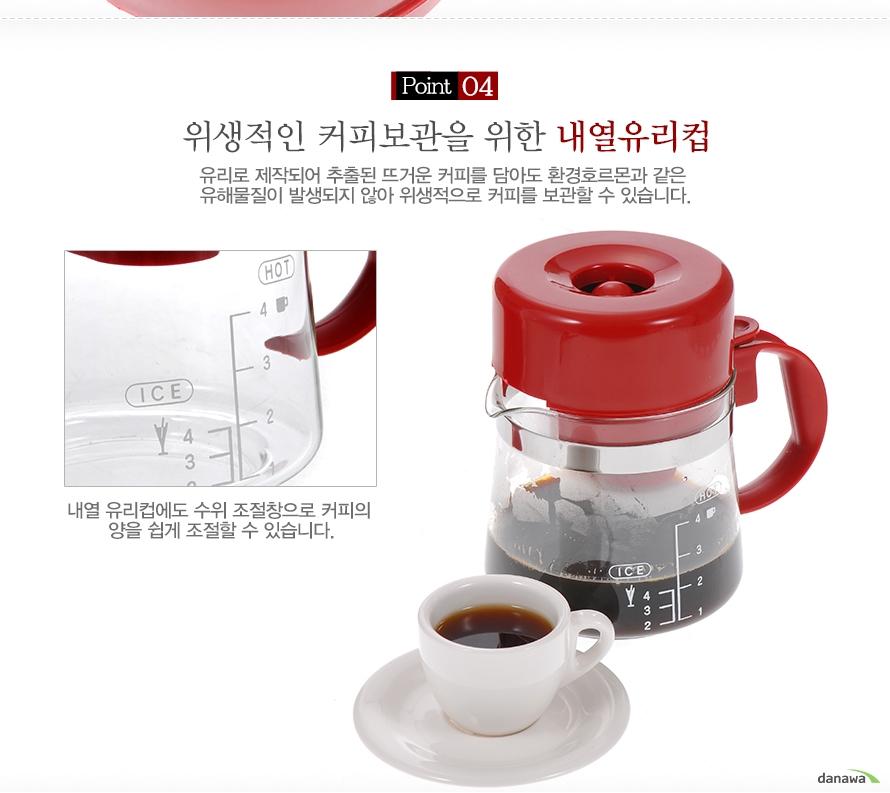 깨끗한 커피추출을 위한 영구필터