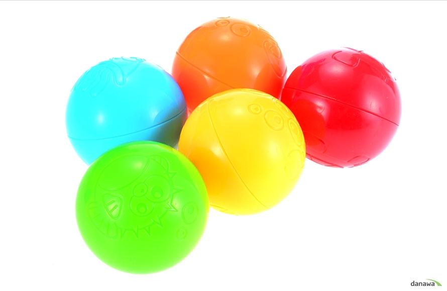 5가지 색상의 공