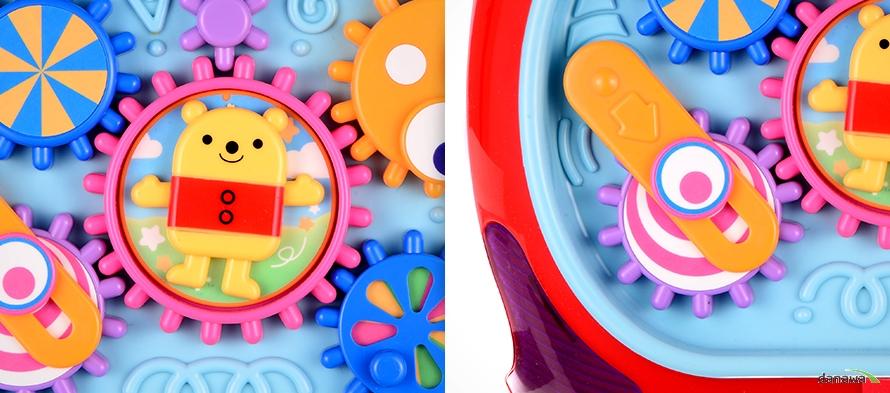 움직이는 미니곰과 다양한 색과 모양