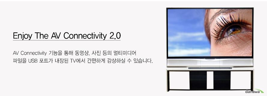 Enjoy The AV Connectivity 2.0