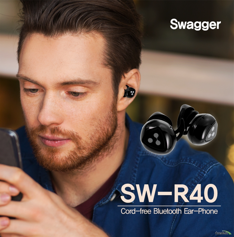 SwaggerSW-R40Cord-free Bluetooth Ear-Phone