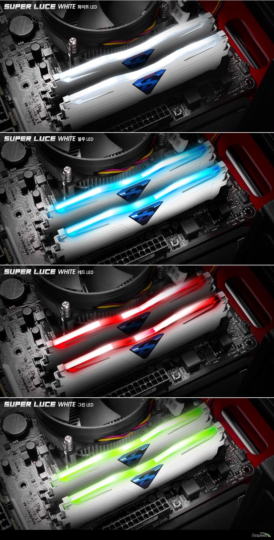 GeIL DDR4 SUPER LUCE White