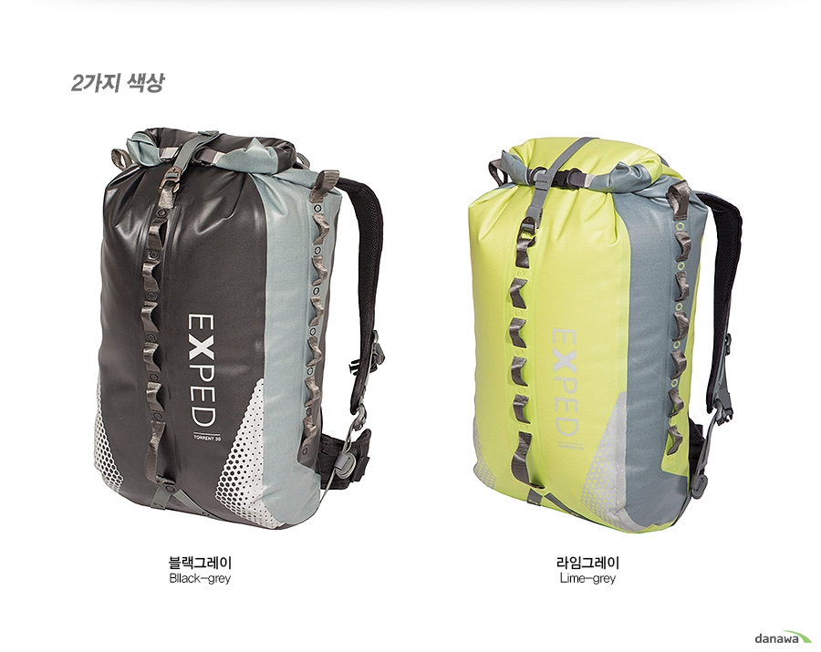 2가지 색상    블랙그레이 Bllack-grey/라임그레이 Lime-grey