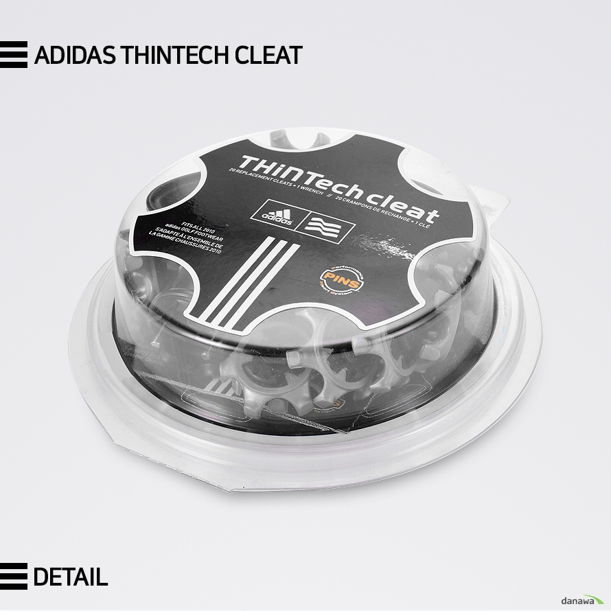 ADIDAS THINTECH CLEAT        DETAIL