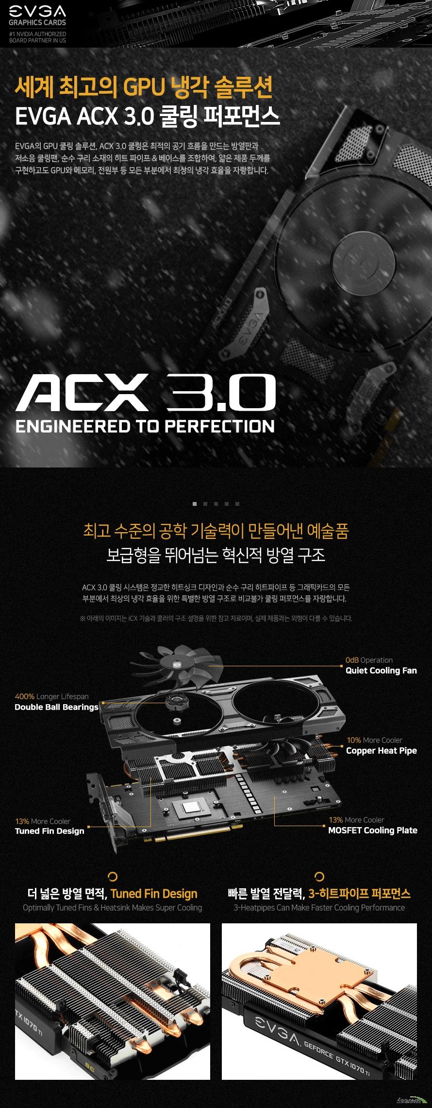 세계최고의 GPU 냉각 솔루션 iCX 쿨링