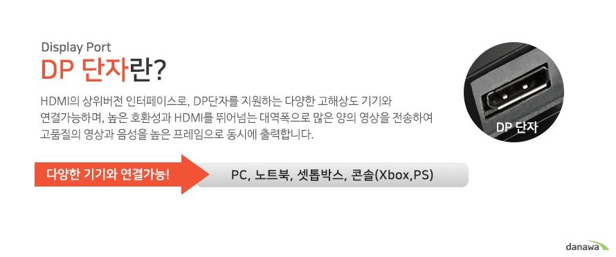 DP 단자 기능 설명