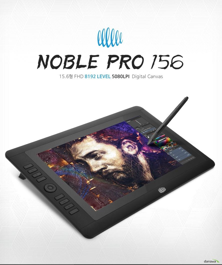 장은테크 NOBLE PRO 156 / 15.6형 FHD 8192Level 5080LPI Digital Canvas