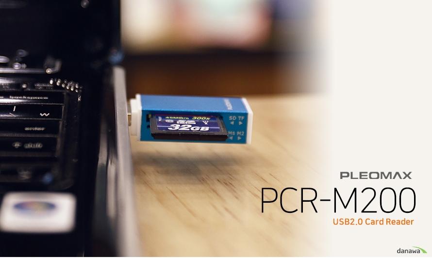 PLEOMAX    PCR-M200    USB 2.0 CARD READER