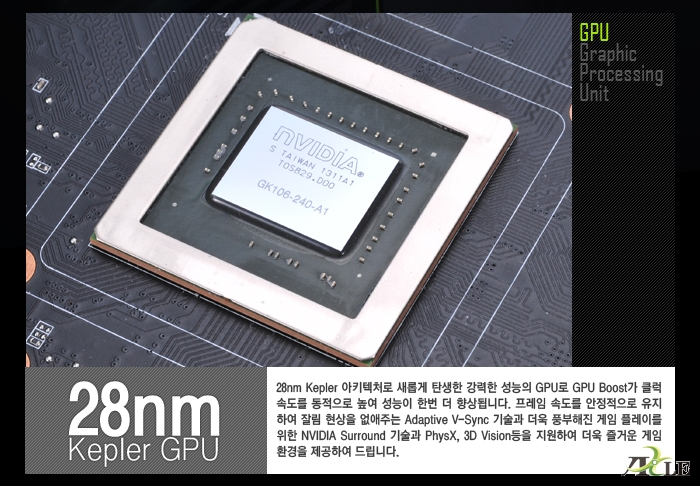 AXLE 지포스 GTX650 Ti Boost D5 1GB GPU이미지