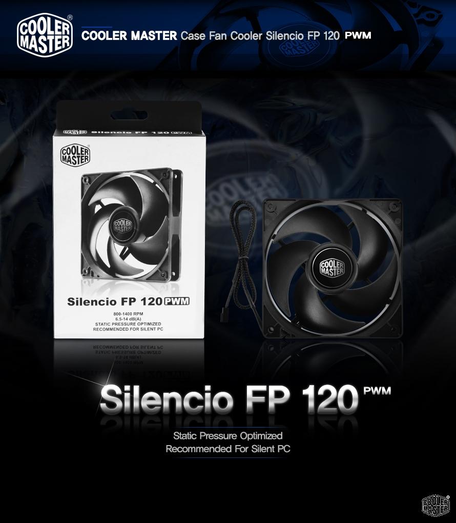 쿨러마스터 Silencio FP 120 PWM
