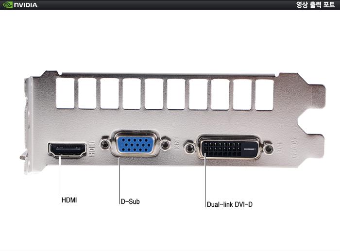 AXLE 지포스 GTX750 V2 D5 1GB 포트 부