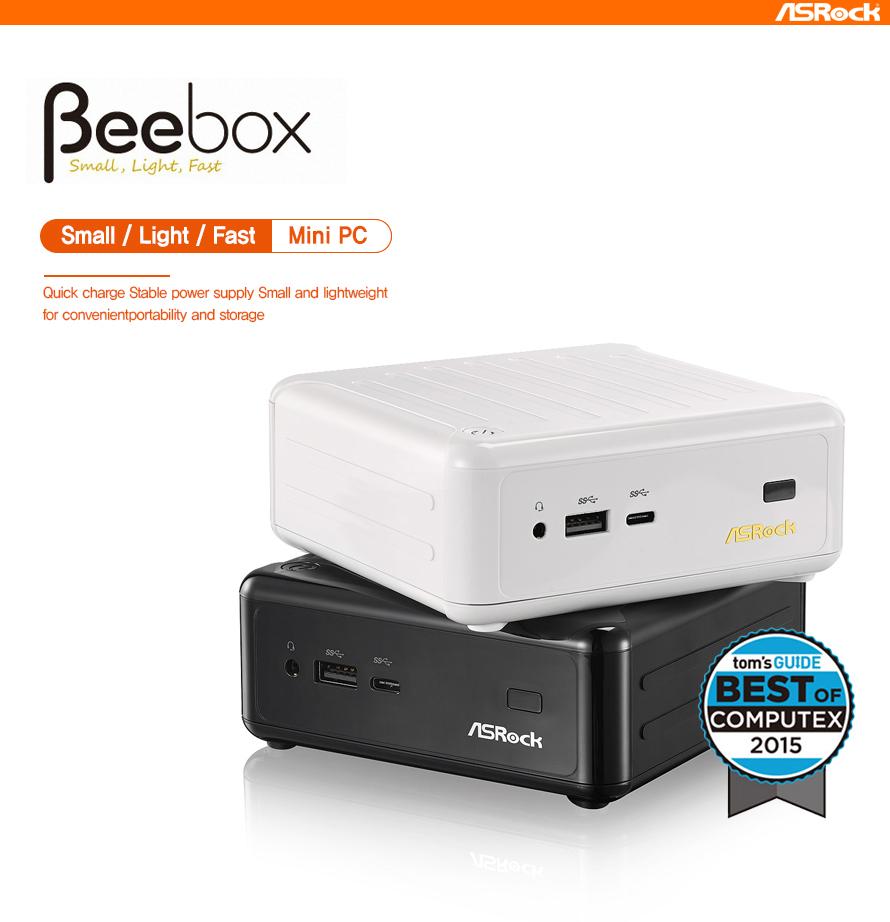 ASRock Beebox N3000 (완제품, 4GB, 128GB SSD)