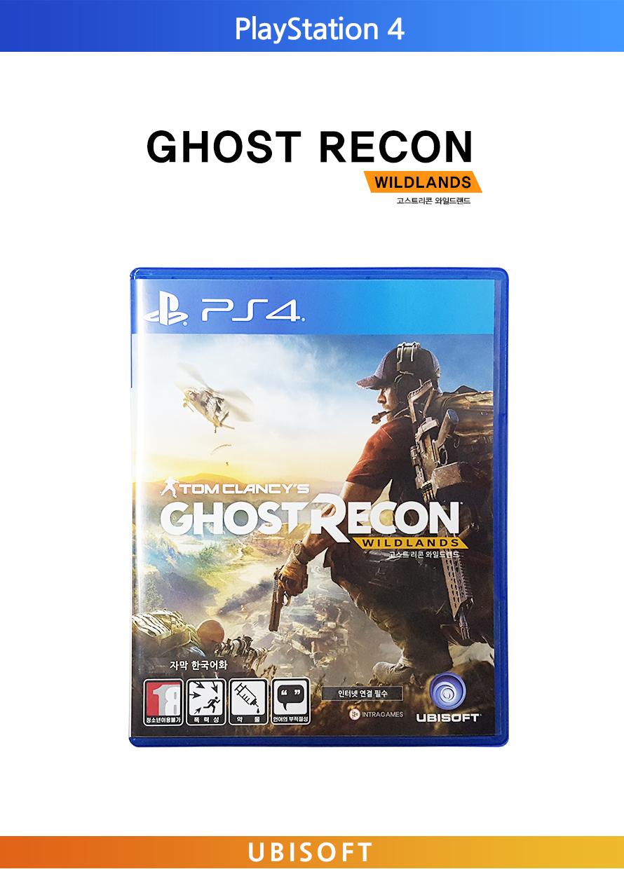 PlayStation 4GHOST RECONWILDLANDS고스트리콘 와일드 랜드UBISOFT